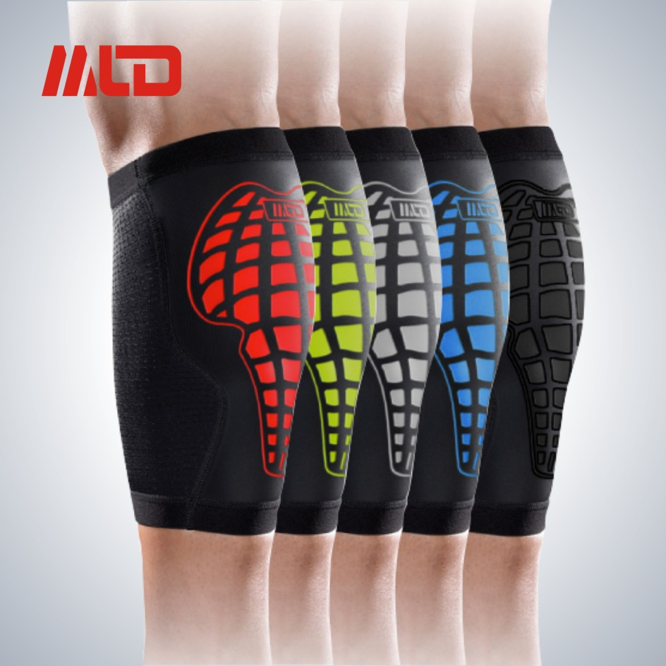 Red / Green / Black / Blue Sports Neoprene Elastic Leg Support Compression Calf Suport