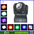 NEW Two face 2PCS 10W high power RGBW LED Wash moving head lights