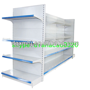 Round supermarket display rack ice box supermarket rack