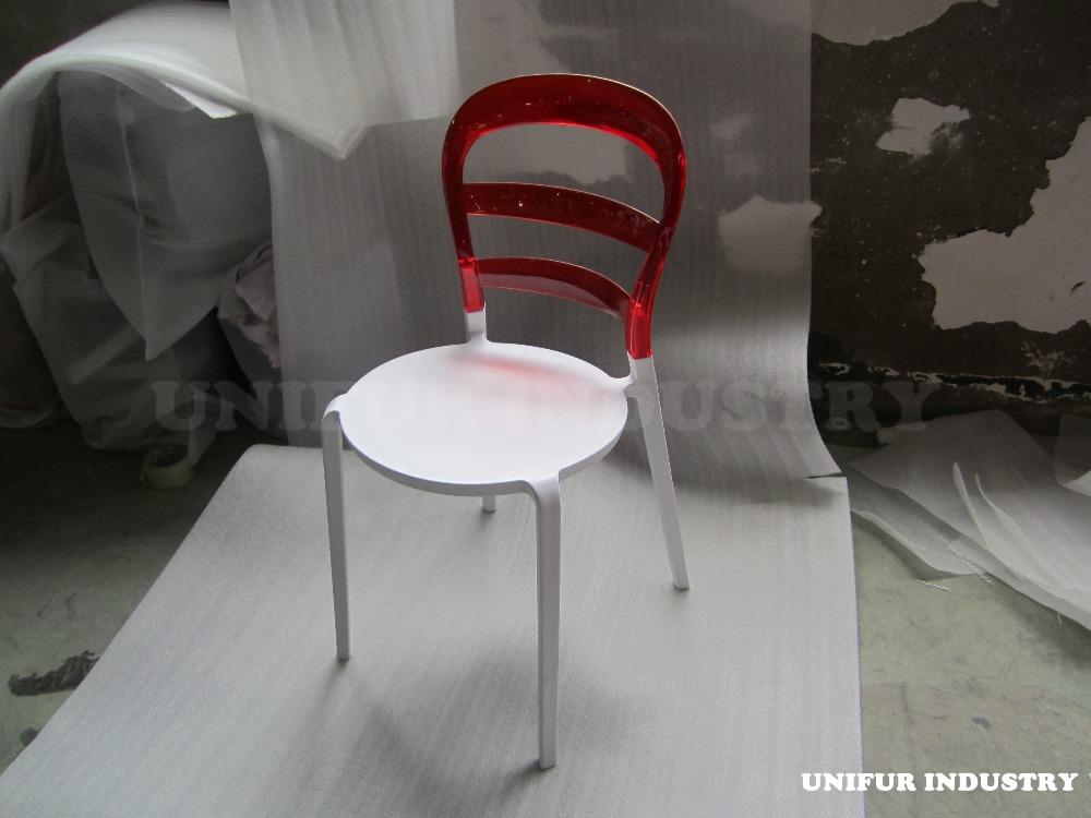 Replica lucidi pevere moden design stackablee miss bibi sedia