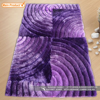 Color Change Microfiber Polyester Bath Mat Sets