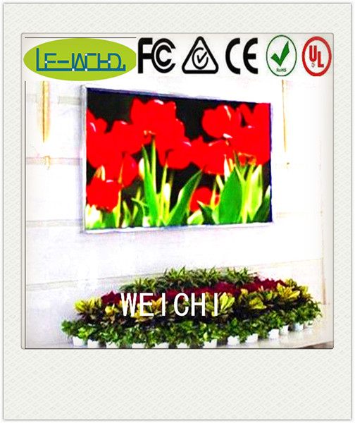 16x96 message sign walking billboard video indoor advertising p4 led display screen