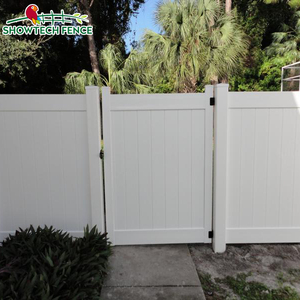hot sale plastic house main gate designs for vinyl fence