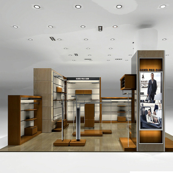 Factory Made Clothing Display Ideas With Menswear Shop Interior ...