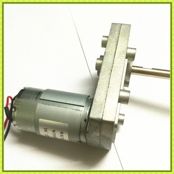 Flat gearbox right angle high torque lowrpm vending 24v dc for Limited angle torque motor
