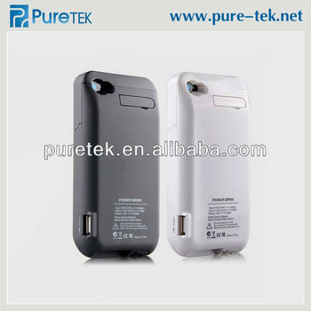 hot sale online 14aae 34556 3000mah For Iphone 4 4s Power Bank,Extended Power Battery Case With Stand  For Iphone 4s - Buy Battery Case With Stand,3000mah Power Bank,Extended ...