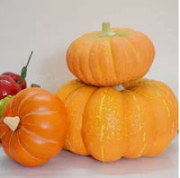 2014 hot sale artificial styroform pumpkin Vegetables for decorative christmas decoration artificial fruit