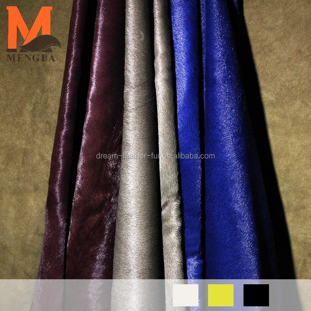 calf skin hides cow fur calf skin with fur on for bags garment and shoes