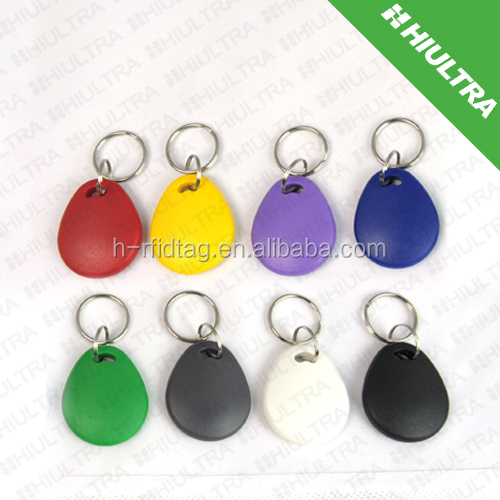 EM4100 rfid key rings fobs tag for identification