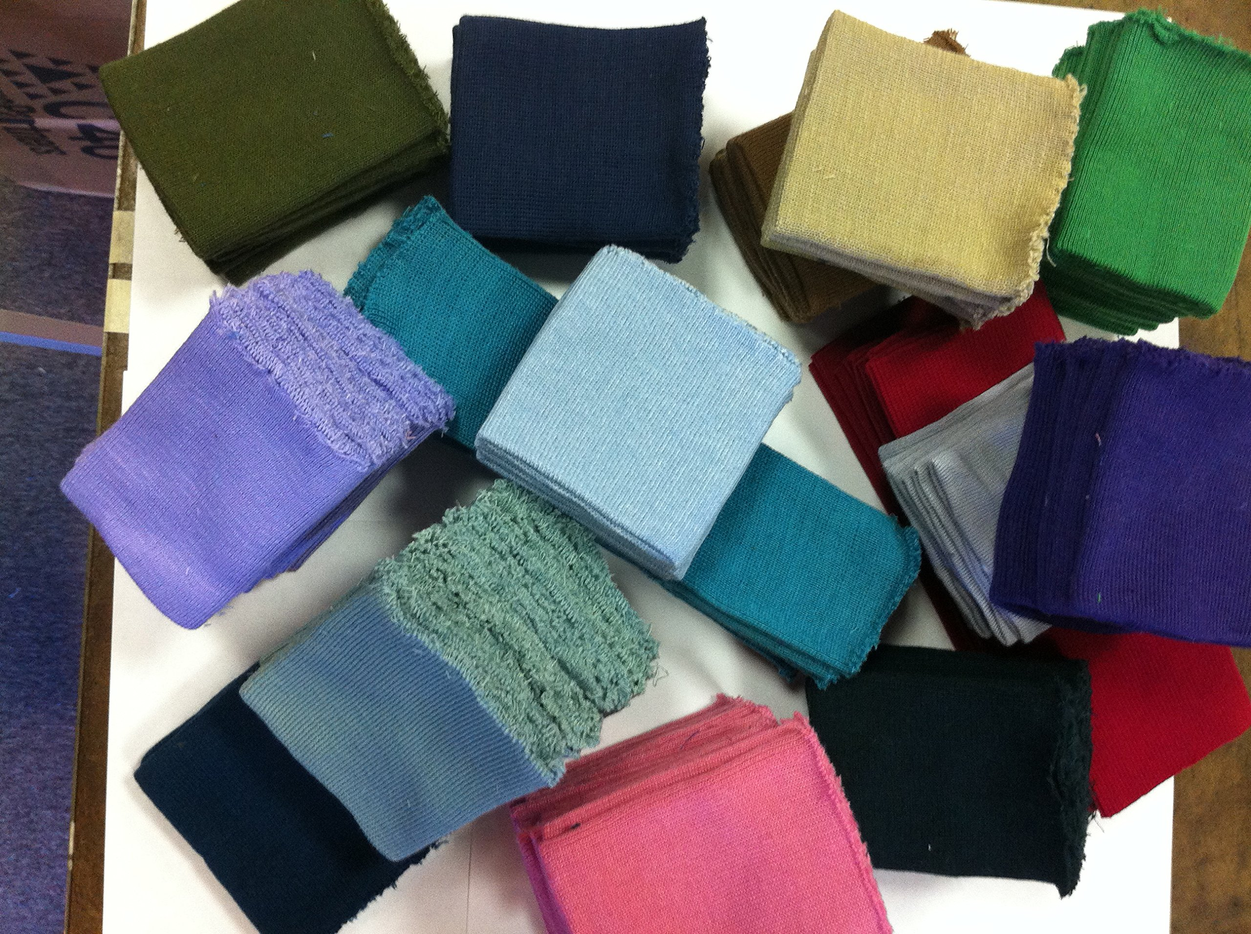 36da24fd060 Get Quotations · Knit/knitted Cuff, Rib Knit Fabric Cuff Assorted Colors -  Material for Making Cuffs