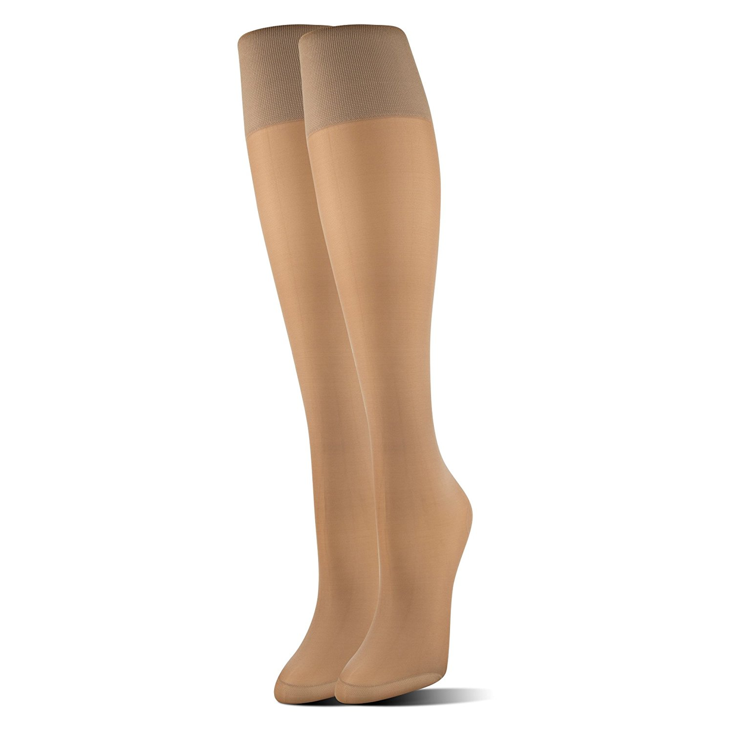 7a18318f0f Get Quotations · MediPeds Women's Mild Compression Support Knee High Socks,  ...