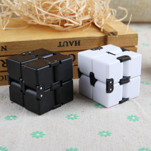 Magic Folding Cube Puzzles Infinity Fidget Cube Stress Relief Toy for Adult&Kids