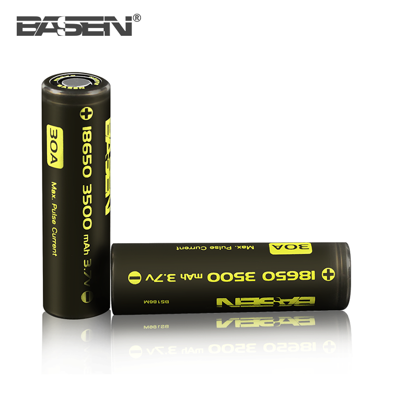 Basen 18650 3500mah Battery rechargeable li-ion battery 3.7v 18650 3800mah