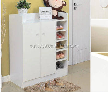 Melamine Laminated Shoe Cabinet Rack/Best Selling Fashion Style Shoe Cabinet  With 3 Drawer