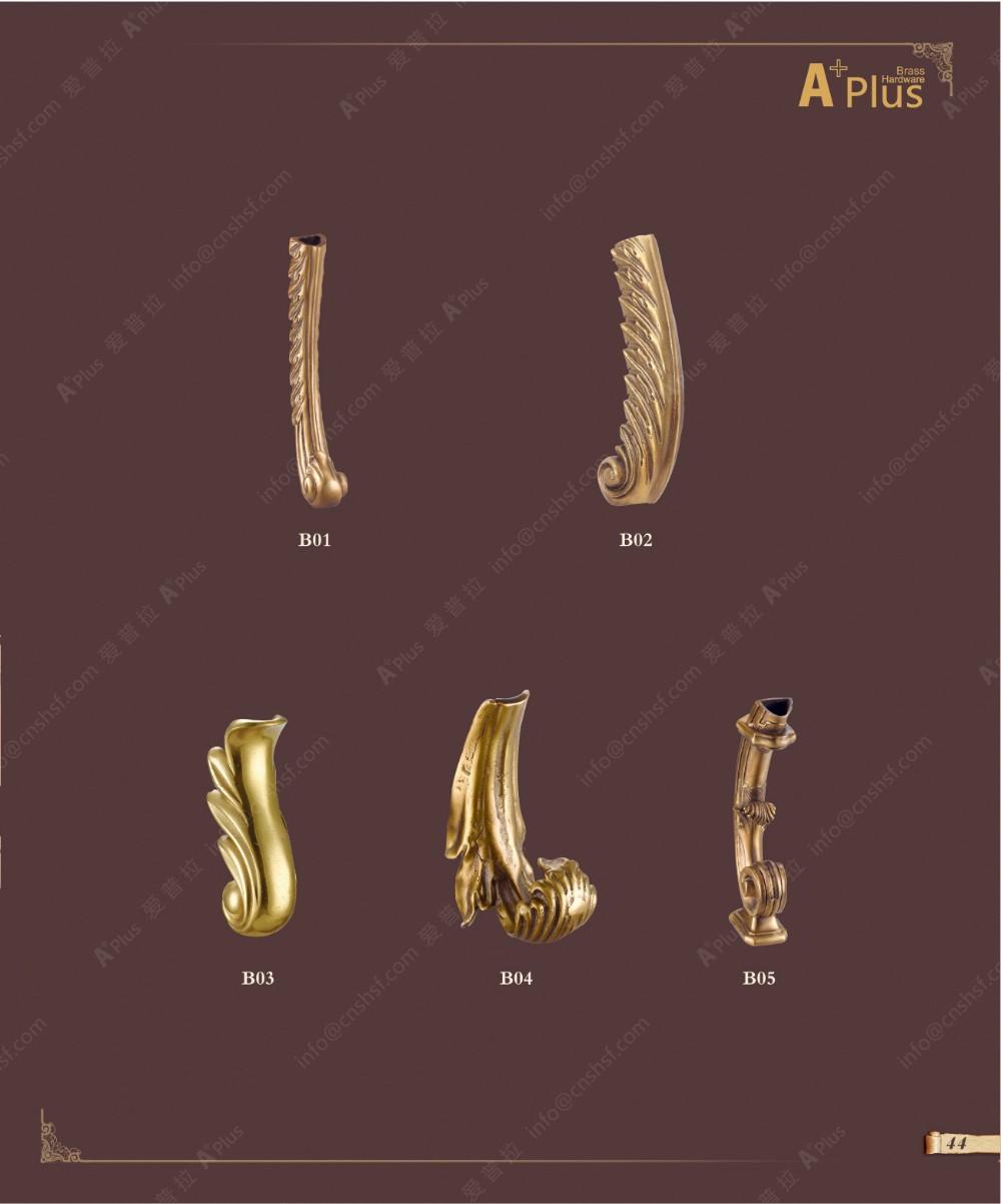Decorative metal furniture legs - B03 Handmade Antique Decorative Metal Furniture Legs