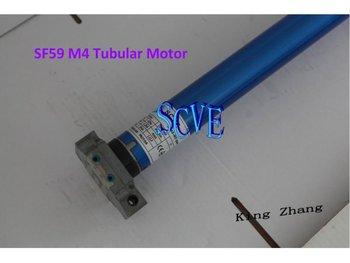 Sf59 m4 tubular motor 45mm with manual override roller for Roller shutter motor installation