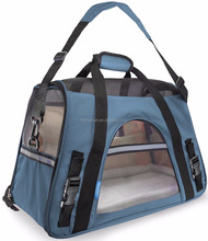 Airline Approved Pet Carriers with Fleece Bed For Dog & Cat