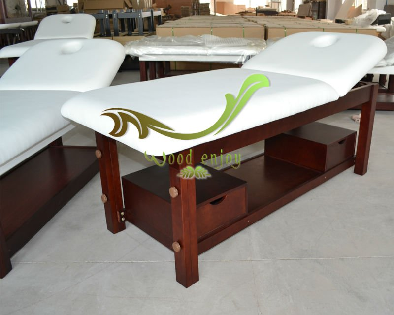 Hot Sales Solid Wood Used Electric Massage Table