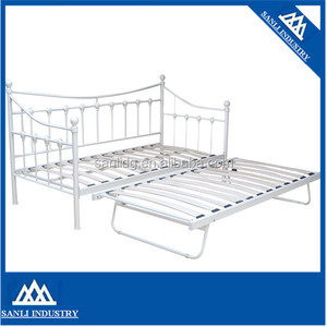 modern metal day bed with guest bed