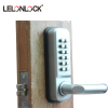 High security mechanical Keyless access control code door lock with humanity design door handle