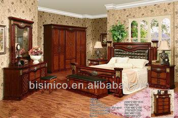 Vintage Design Bedroom Furniture Set,Classical Natural Solid Wood  Bed,Wooden Bedroom Furniture Set, View high end solid wood bedroom sets  furnitures, ...