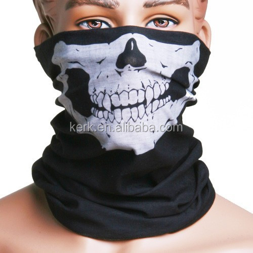 more than 400 stock designs 100% high micro polyester outdoor multifunction skull <strong>bandana</strong>