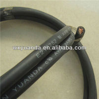 VDE H05S-K Silicone rubber insulation heating flexiable cable