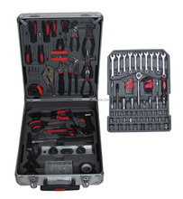 ST-445-183pcs Hardware tools With Aluminium Trolley Case(Working tools set)