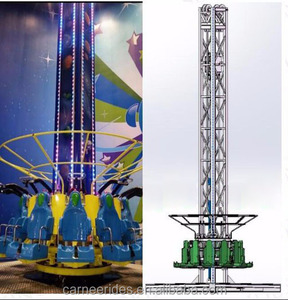 freefall entertainment ride for sale gyro drop tower rides amusement rides attraction