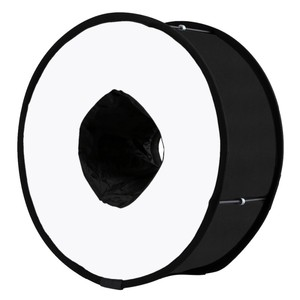 OEM PULUZ 45cm Ring Softbox Speedlight Round Style Flash Light Shoot Soft box Foldable Soft Flash Light Diffuser