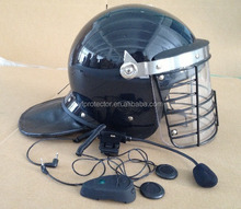 Anti Riot Helmet with grill / steel shield helmet