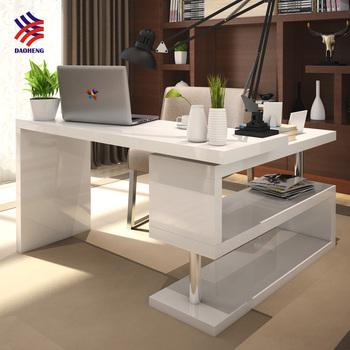 T Corner L Shaped Student Folding Adjustable Rotating Executive Laptop  Computer Study Table Desk