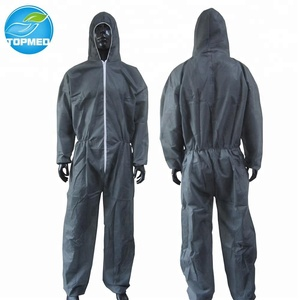 Disposable microporous paintball coveralls, working coveralls, nonwoven overalls