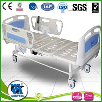 hospital remote control two electric motors hospital electric bed