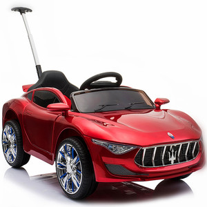 Painted red electric toys car children's electric car kids electric toy car
