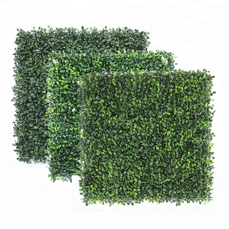 Careful Green Vertical Wall Artificial Instant Hedge Plants 50x50cm Tiles Uv Rated Fake Yard, Garden & Outdoor Living