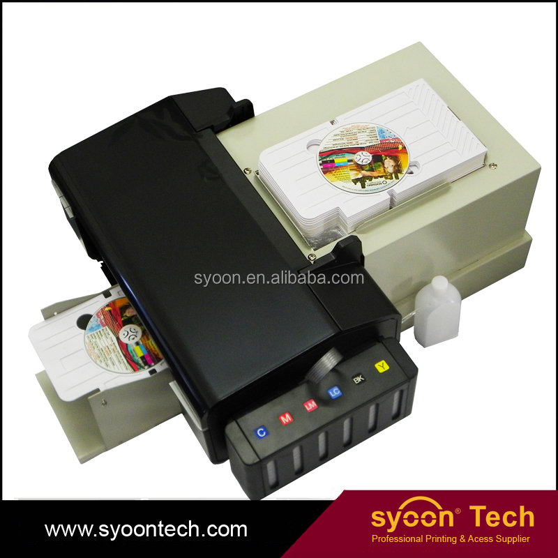 2017 newest industrial CD / DVD/PVC Auto Loading Inkjet Disk Printer