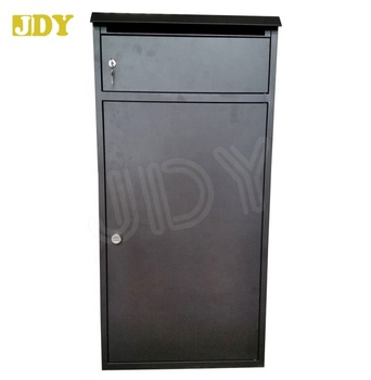 3005 Outdoor Wall Mounted Parcel Dropbox With Mail Slot For Delivery