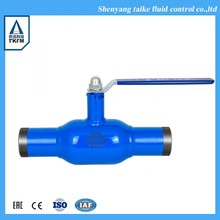 TKFM hot sale district heating stainless steel long stem ball valve handle