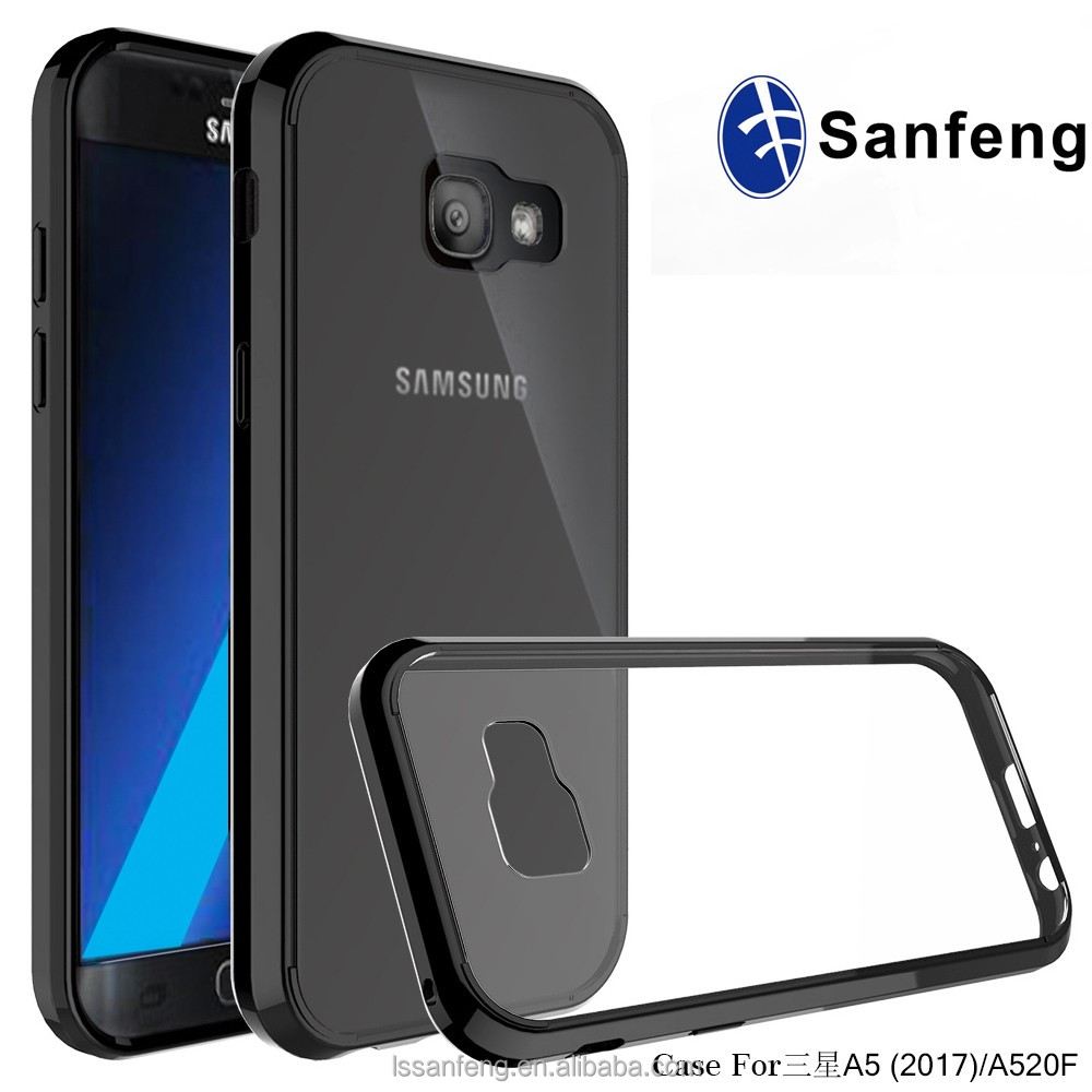 the latest 0b838 58084 Slim Clear Back Case Fusion Bumper Phone Case For Samsung Galaxy A5 2017 -  Buy Fusion Bumper Phone Case,Phone Case For Samsung Galaxy A5 2017,Slim ...