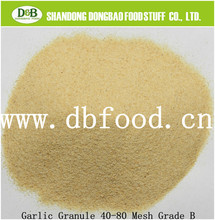 dehydrated garlic and air dried granulated garlic granules with GAP, BRC, HACCP& KOSHER