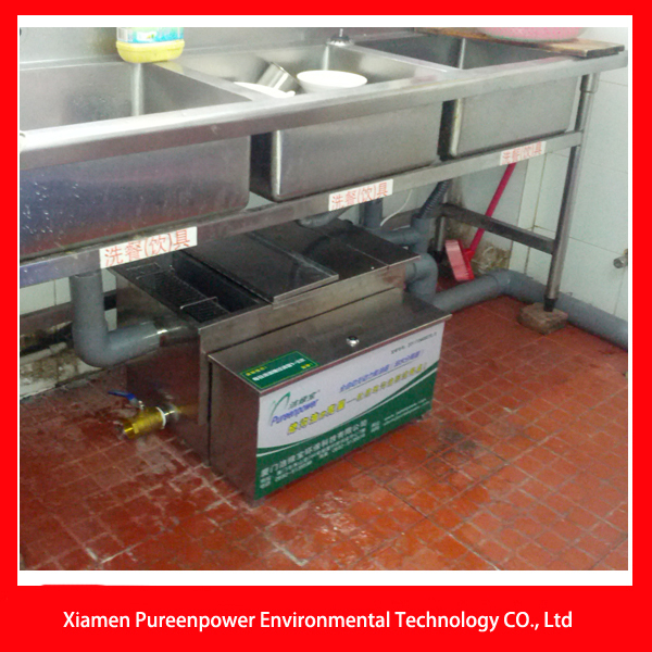 Automatic Kitchen Grease Interceptor Trap For Waste Water