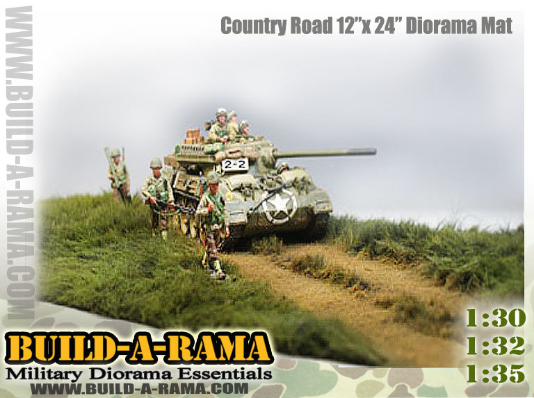 1:32 1:35 1:30 54mm Scale Grass Diorama Mat W/road - Build-a-rama For Toy  Soldiers Models - Buy 54mm Scale Diorama Mat Product on Alibaba com