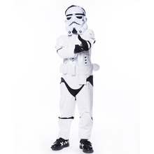 New Arrival Child Deluxe Star Wars The Force Awakens Storm Troopers Halloween Costume Kids Cosplay Party Fancy Dress