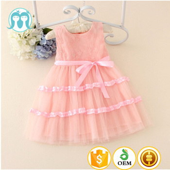 2017 New Fancy Children Lace Ribbon Bow Party Dresses Special Occasion Girls Dress For Princess Buy Baby Girls Party Dressribbon Bow Lace