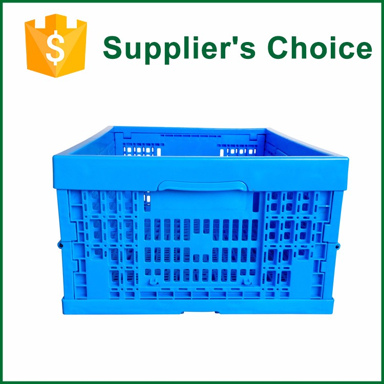 Square Collapsible Distribution Plastic Storage Box/Crate