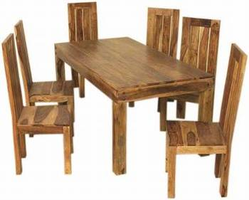 Superbe Sheesham Wood Dining Table