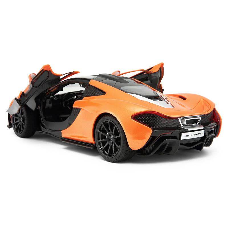 Rastar BEST McLaren P1 scale 1:14 open door mini kids car toy