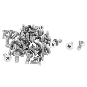Small Size Countersunk Cross Recessed Flat Head Machine Screw