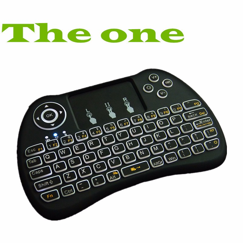keyboard with multi number and touch pad 2.4GHz mini keyboard bluetooth ROHS H9 Smart
